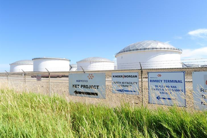 Kinder Morgan profit, cash flow rise on Gulf Coast Express pipeline st