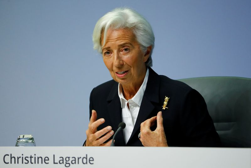 ECB's Lagarde says uptick in inflation 'really minor' By Reuters
