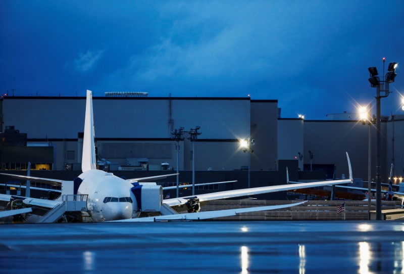 Boeing delays 777X first flight again due to bad weather By Reuters
