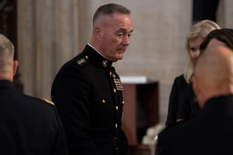 Former top U.S. general Dunford joining Lockheed Martin's board By Reu