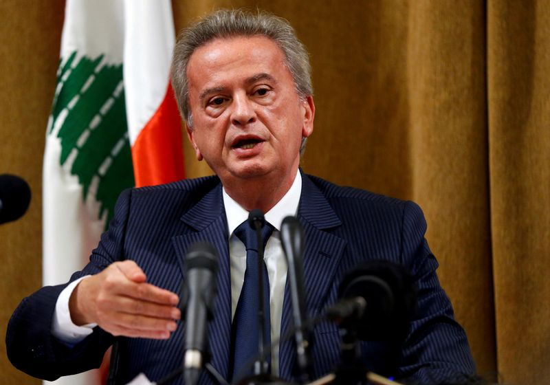 Lebanon central bank reassures foreign investors about deposits By Reu