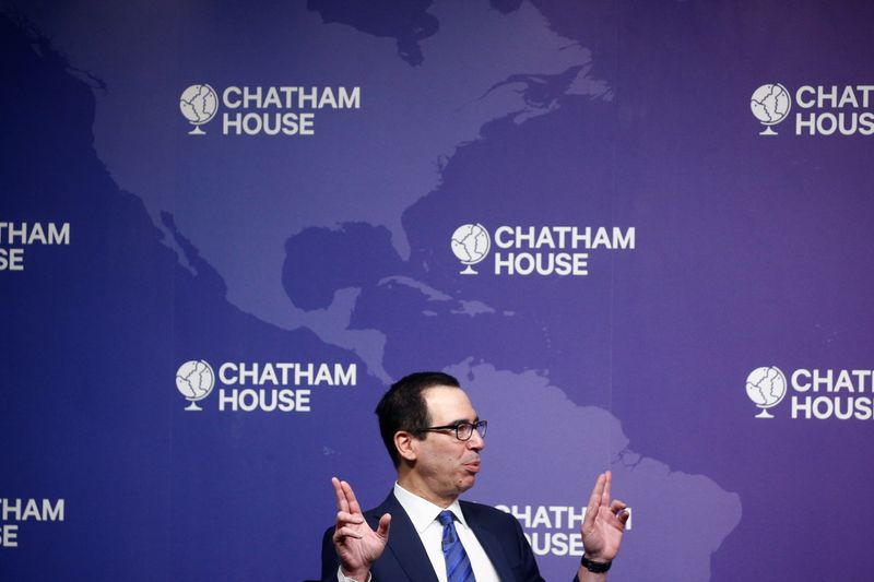 U.S. Treasury's Mnuchin says he has learned his lesson on dollar comme