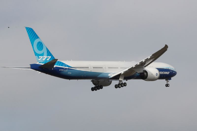 Boeing 777X jetliner successfully completes maiden flight By Reuters