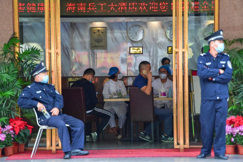 Britain advises against all travel to China's Hubei province By Reuter