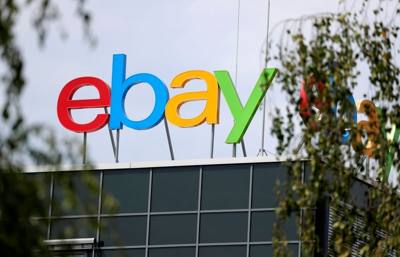 © Reuters. The German headquarters of eBay is pictured at Europarc Dreilinden business park south of Berlin in Kleinmachnow