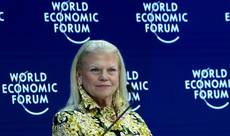 IBM CEO Rometty to step down; cloud boss to succeed