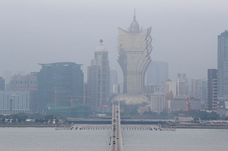 Macau casino revenue drops 11.3 percent in January as coronavirus worries mount