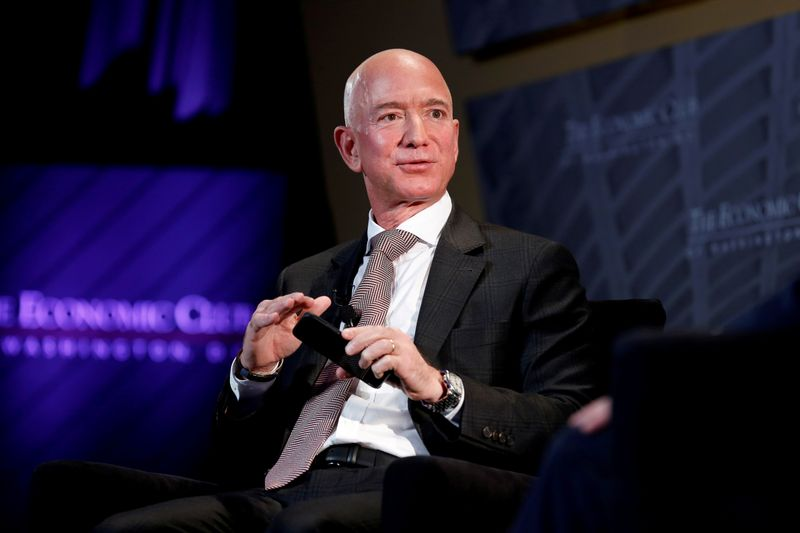 Bezos asks U.S. judge to dismiss lawsuit by girlfriend's brother: Bloomberg