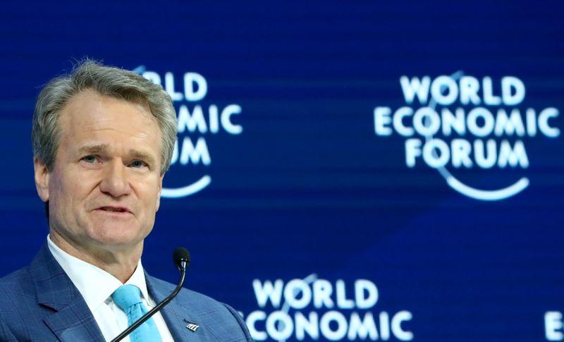 © Reuters. 2020 World Economic Forum in Davos