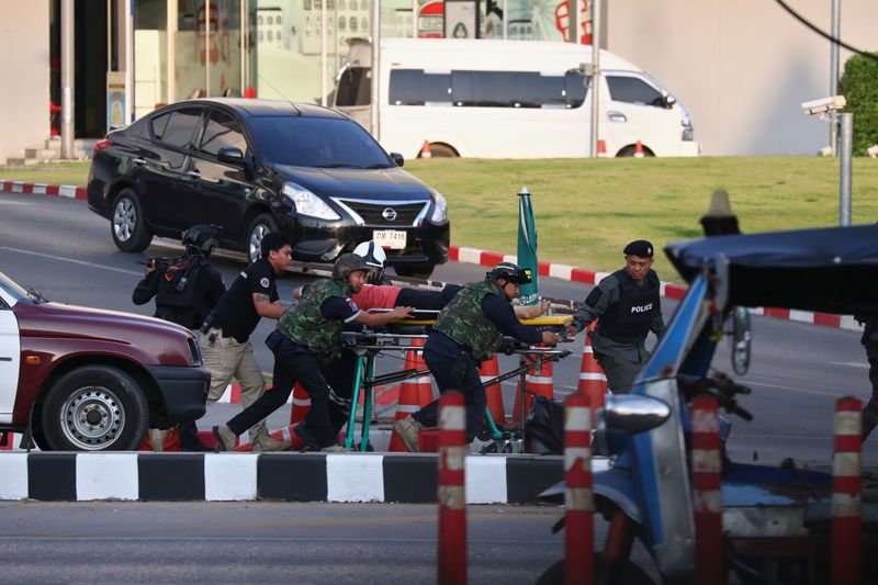 Thai soldier who killed 20 shot dead in shopping mall siege