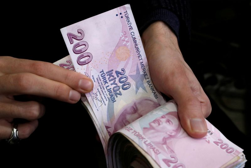 Volatile Turkish lira slips again after attempt to quell selloff
