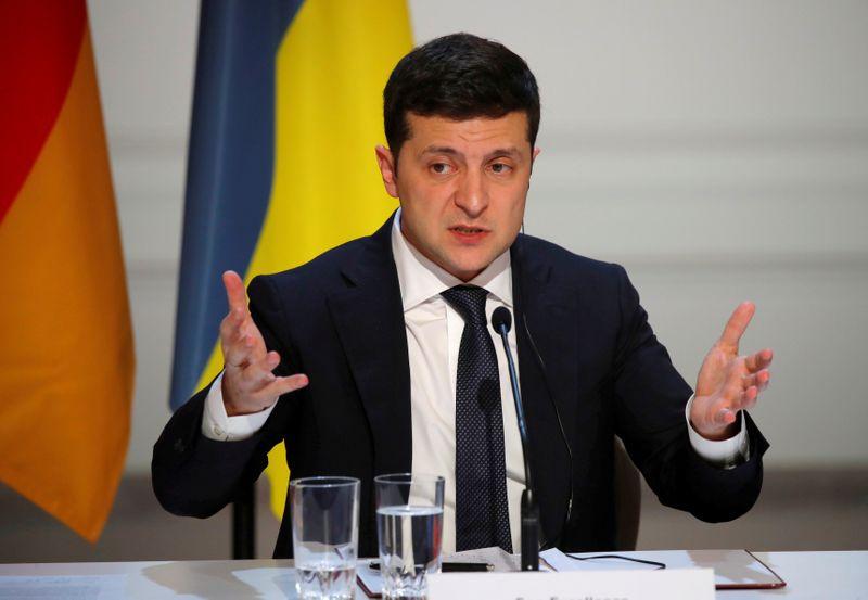 © Reuters. FILE PHOTO: Normandy Summit Format on Ukraine in Paris