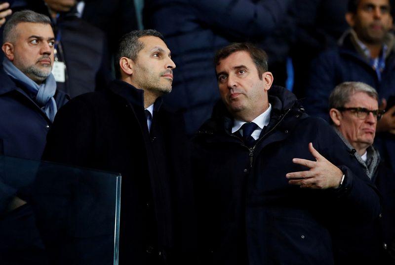 © Reuters. FILE PHOTO: Premier League - Manchester City v Manchester United