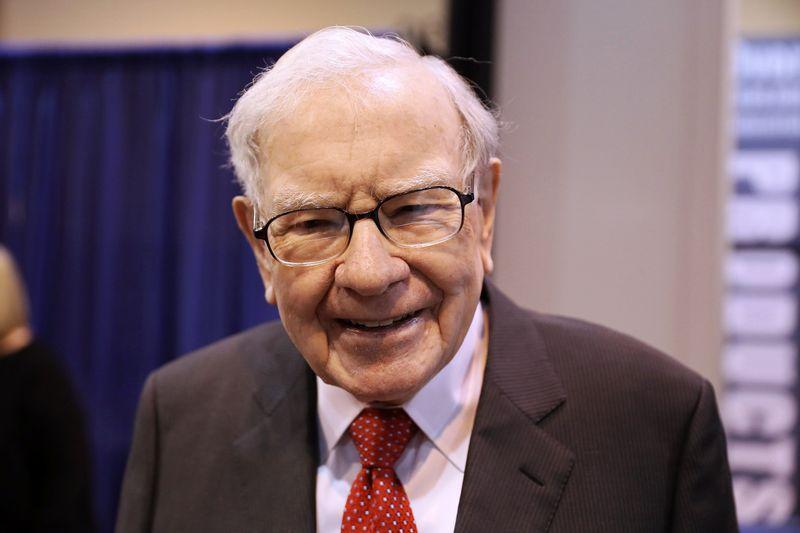 Buffett's Berkshire buys Kroger and Biogen, reduces Wells Fargo and Goldman stakes