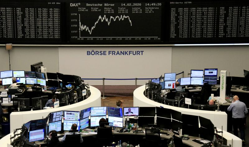 European shares hit record high; carmakers cheer China stimulus