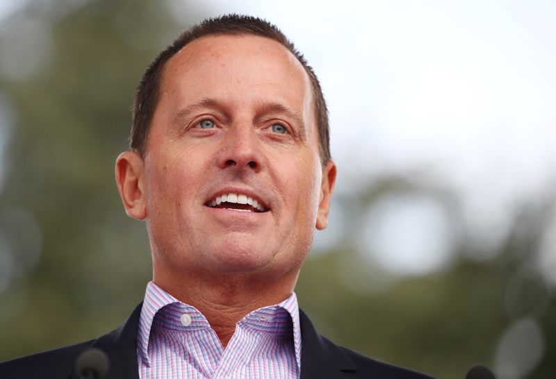 © Reuters. Grenell US Ambassador to Germany attends the