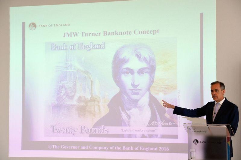 New British 20 pound banknote, featuring artist Turner, enters circulation