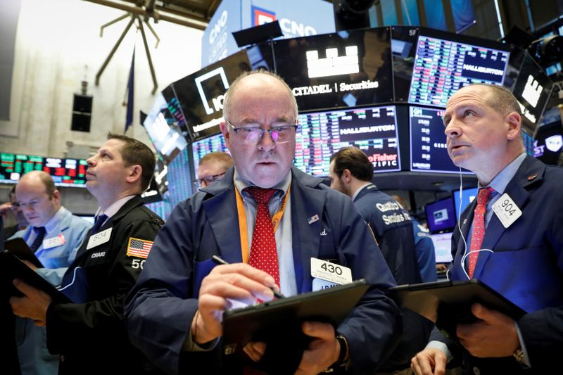 Investors piled into volatility bets before market tumble
