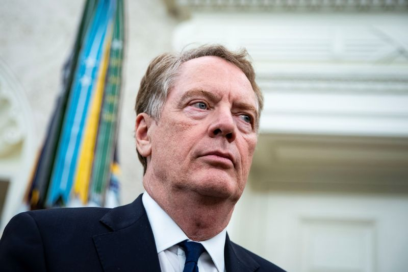 U.S. trade rep Lighthizer to meet British counterpart as allies gear up for talks