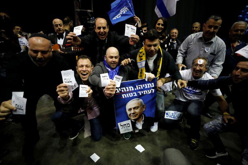 نتنياهو يعلن على تويتر انتصاره في الانتخابات