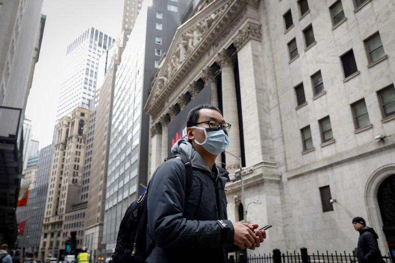 米社債、リスク選好回復で上昇 新型ウイルスに絡む格下げに警戒も