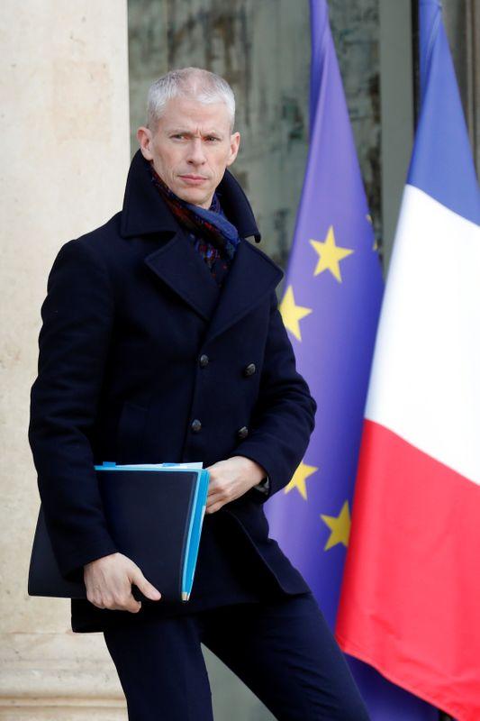 仏文化相が新型ウイルスに感染、議員が感染経路か