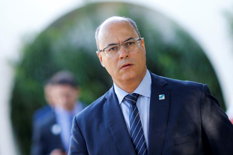 © Reuters. Wilson Witzel, governador do Rio de Janeiro