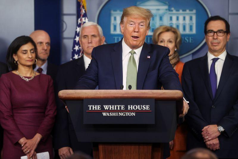Trump wants to send Americans $1,000 checks to cushion virus economic shock