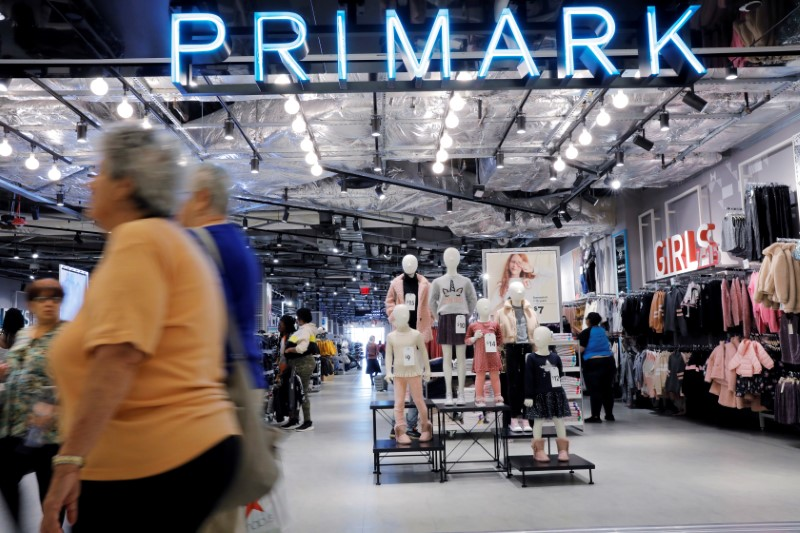 Primark to close its 189 stores in UK - FT