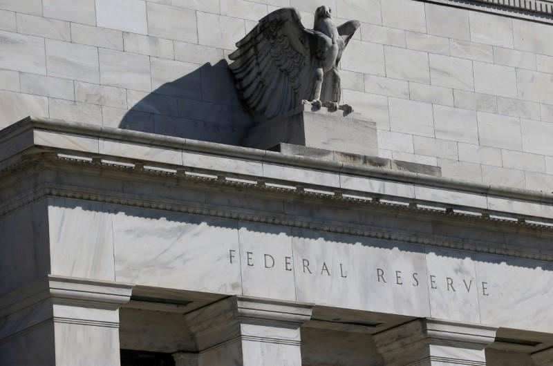 © Reuters. FOTO DE ARCHIVO: El edificio de la Junta de la Reserva Federal en Constitution Avenue se representa en Washington