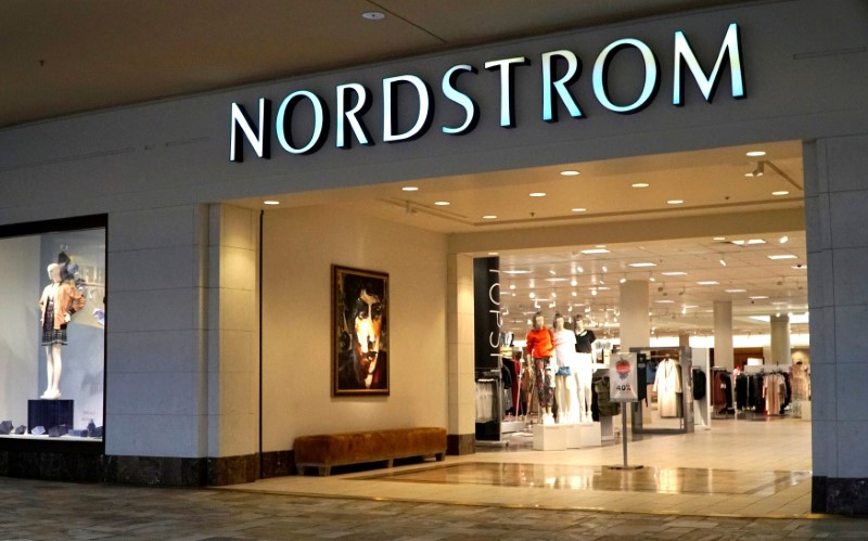 © Reuters. FILE PHOTO: The Nordstrom store is pictured in Broomfield