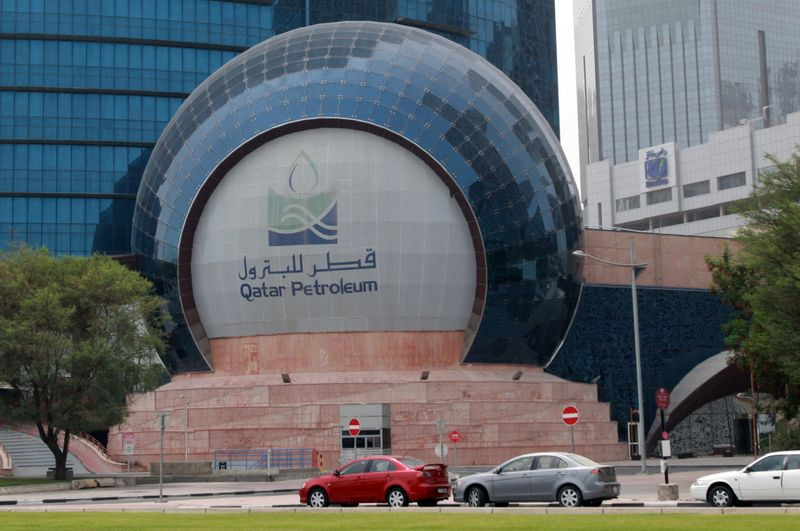 © Reuters. قطر تستقطب مشترين بغاز مسال فوري بعد إلغاء مستوردين هنود لشحنات