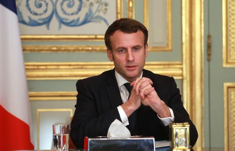 © Reuters. ELYSÉE объявляет о выпуске трех французских заключенных в Ираке