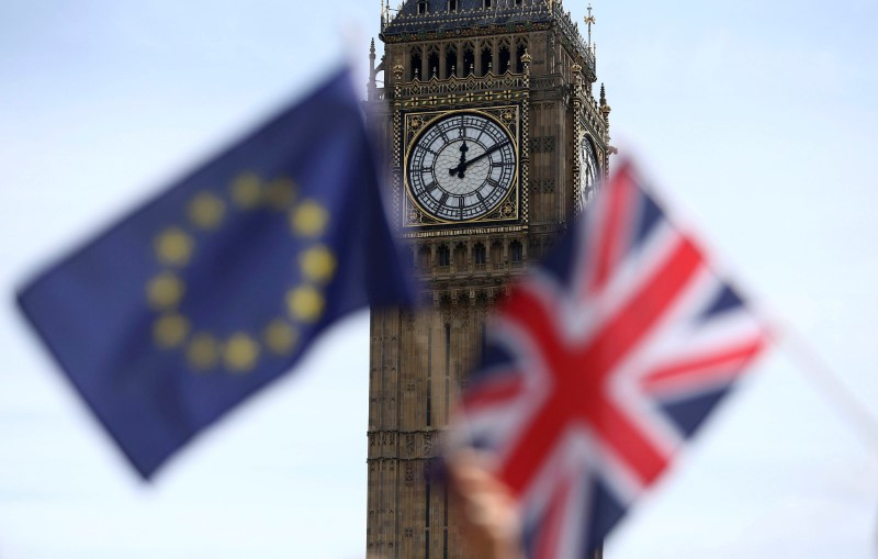 UK says will hold first joint committee meeting with EU negotiators Monday
