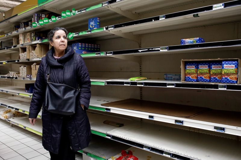 Meal delivery firms branch out into groceries during crisis
