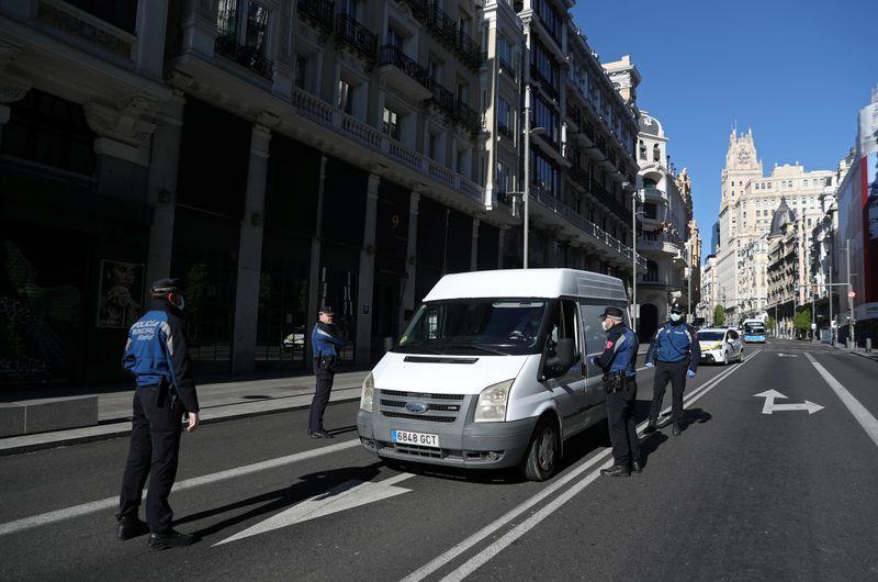 © Reuters. Coronavirus disease (COVID-19) outbreak in Madrid