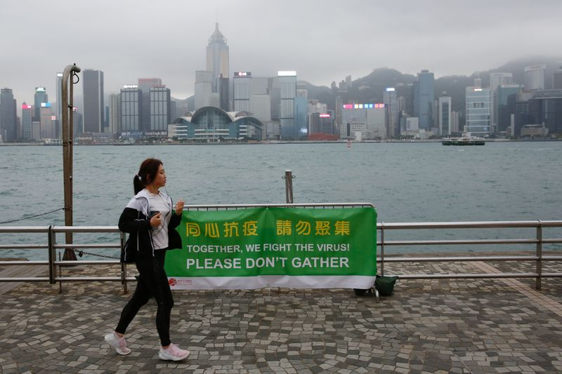 Hong Kong extends social distancing restrictions to contain coronavirus