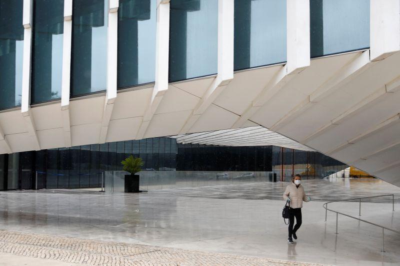 © Reuters. Spread of the coronavirus disease (COVID-19) in Lisbon
