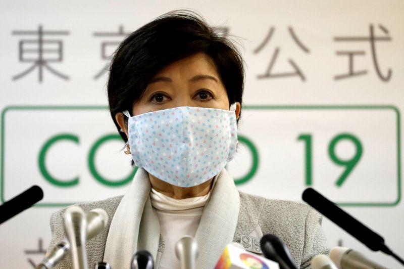 © Reuters. FILE PHOTO: Coronavirus disease (COVID-19) outbreak in Japan