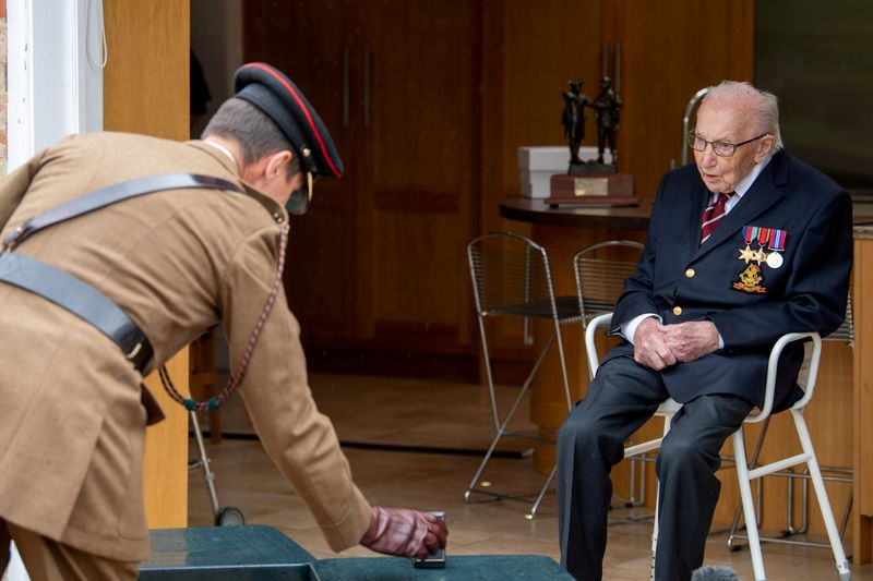 Flypasts and promotion for fund-raising hero 'Colonel' Tom as he turns 100