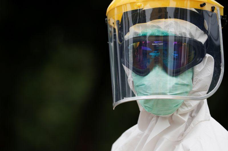 © Reuters. Outbreak of coronavirus disease (COVID-19) in Jakarta, Indonesia
