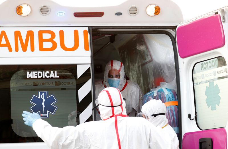 Italy's daily coronavirus death toll jumps, new cases stable