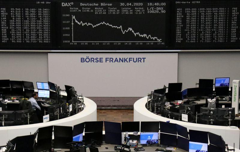 European stock futures drop as U.S., China spar over virus origin