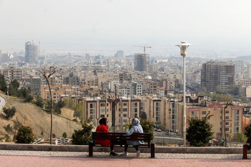 © Reuters. Outbreak of the coronavirus disease (COVID-19), in Tehran