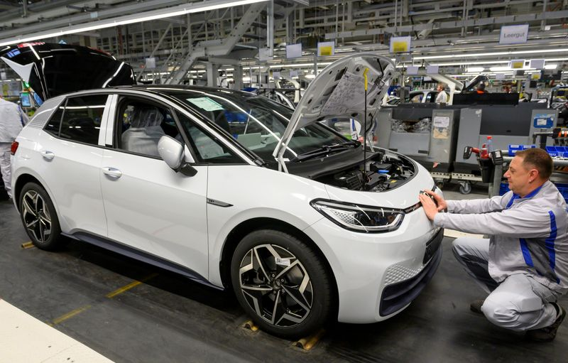 Electric car sales in Europe jump, but still just 4% of market
