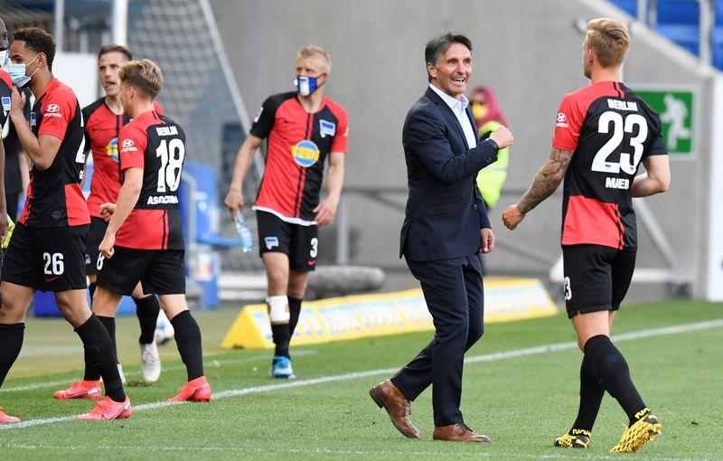 Hertha's Ibisevic haunts Hoffenheim on Bundesliga return By Reuters
