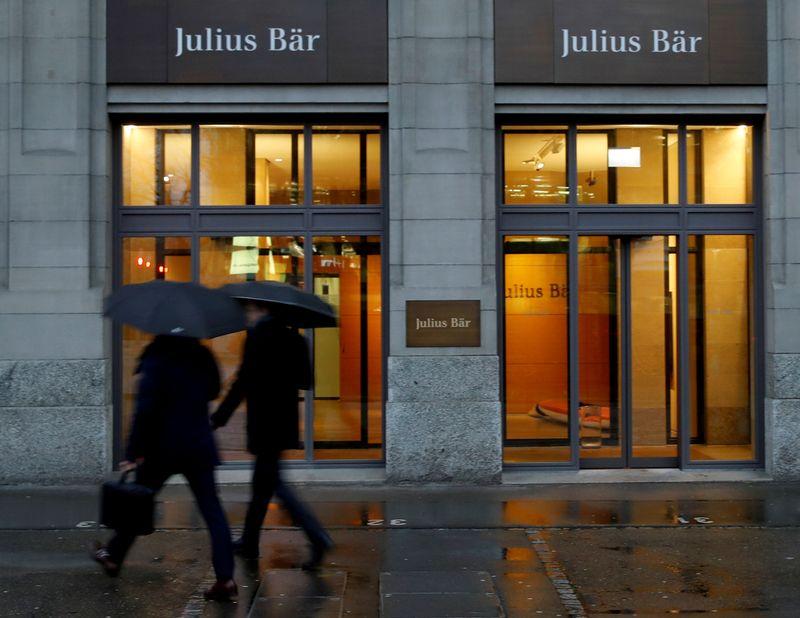 Julius Baer posts 8% AuM drop, margin boost in first four months