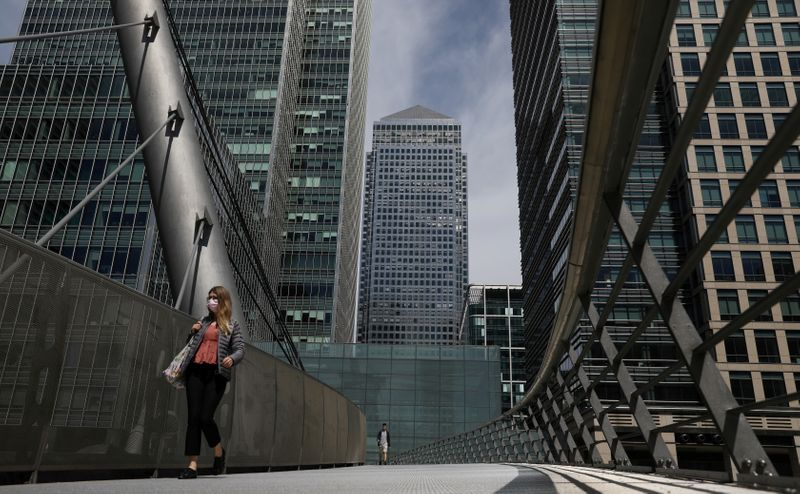 British finance workers prepare for return to office of the future