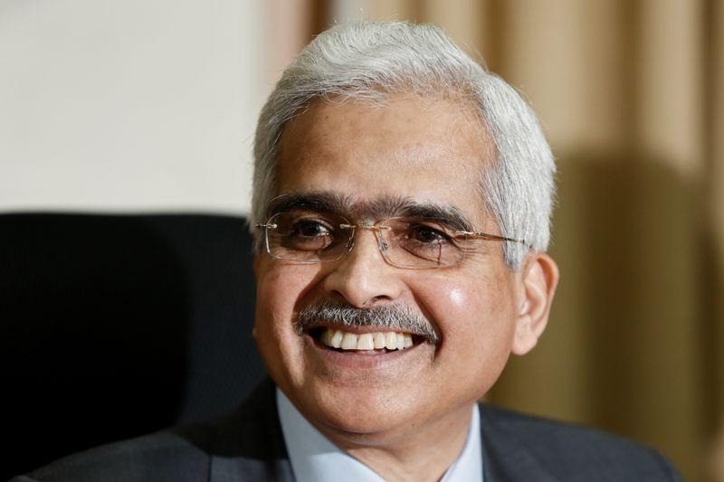 © Reuters. Presidente do BC da  Índia, Shaktikanta Das