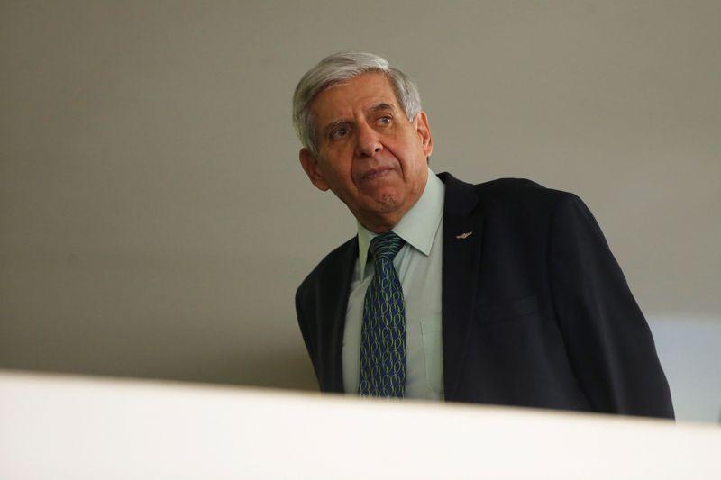 © Reuters. Ministro do Gabinete de Segurança Institucional, Augusto Heleno, em Brasília